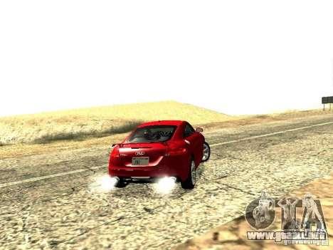 Audi TT-RS Coupe 2011 v.2.0 para GTA San Andreas vista hacia atrás