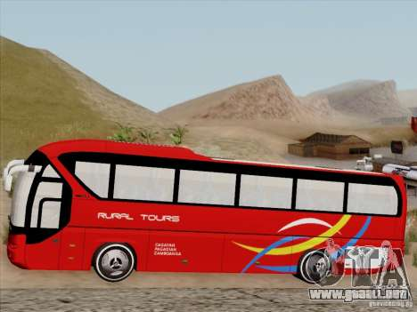 Neoplan Tourliner. Rural Tours 1502 para vista lateral GTA San Andreas