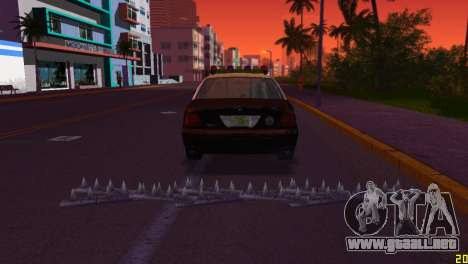HP Stinger 2.0 para GTA Vice City segunda pantalla