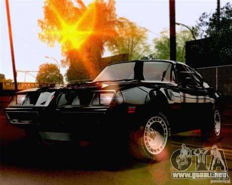 Lensflare Settings para GTA San Andreas segunda pantalla