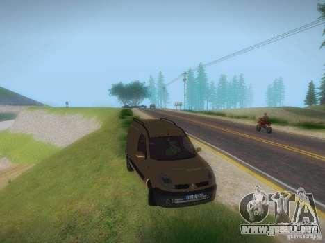 Renault Kangoo II Stock para la visión correcta GTA San Andreas