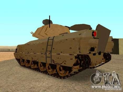 M2A3 Bradley para la visión correcta GTA San Andreas