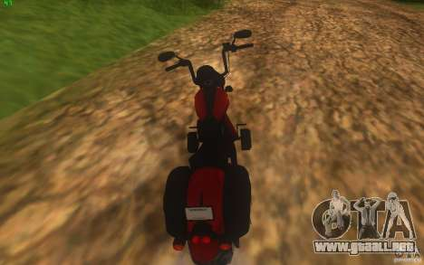 Motorcycle from Mercenaries 2 para GTA San Andreas left
