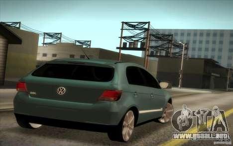 Volkswagen Golf G5 para GTA San Andreas