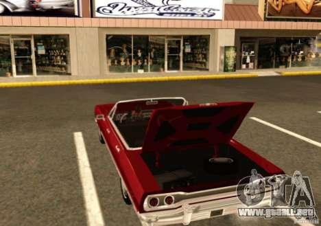 Savanna Detroit 1965 para la visión correcta GTA San Andreas