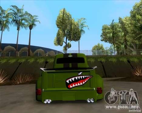 Ford FR-100 2003 para visión interna GTA San Andreas