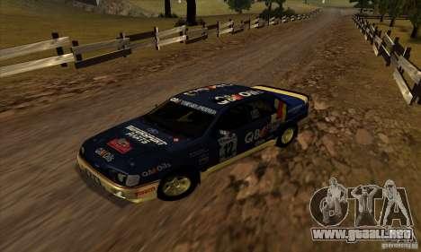 Ford Sierra RS500 Cosworth RallySport para GTA San Andreas left
