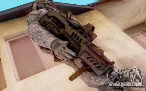 Tavor Ctar-21 de warface para GTA San Andreas segunda pantalla