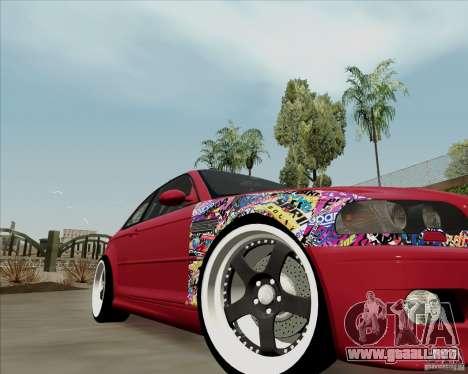 BMW E46 para la visión correcta GTA San Andreas
