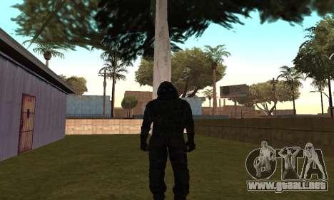 Vector REORC para GTA San Andreas sucesivamente de pantalla