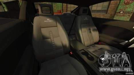 Saleen S281 Extreme v1.5 para GTA 4 vista interior