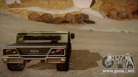 HD Patriot para visión interna GTA San Andreas