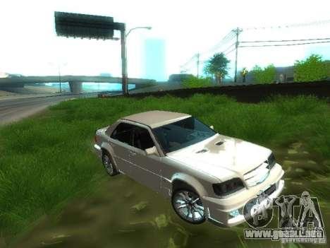 Mercedes-Benz W124 BRABUS para visión interna GTA San Andreas