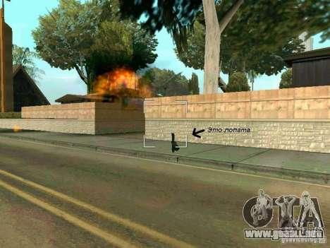 Lopatomët para GTA San Andreas octavo de pantalla