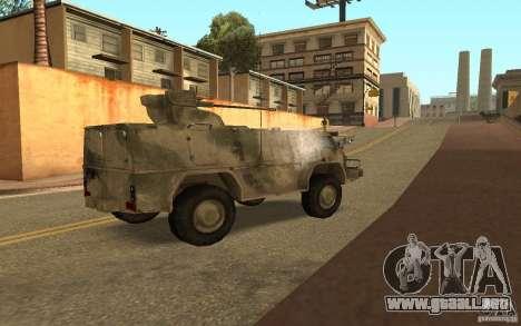 GAS-3937 Vodnik para la visión correcta GTA San Andreas