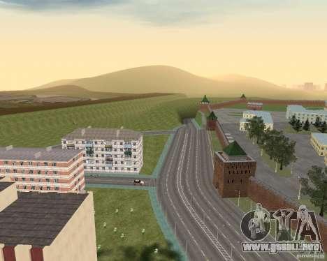 Nižegorodsk v0.1 BETA para GTA San Andreas