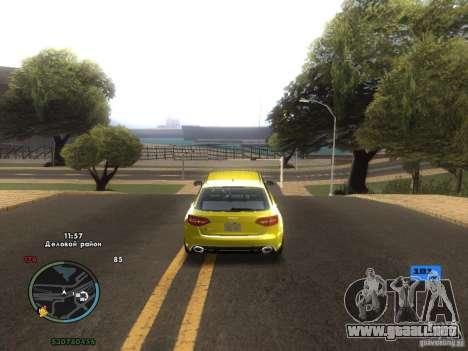 Tacómetro electrónico para GTA San Andreas sexta pantalla