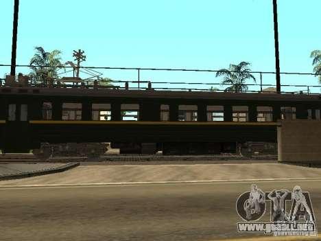 ÈR2R-7750 para GTA San Andreas vista posterior izquierda