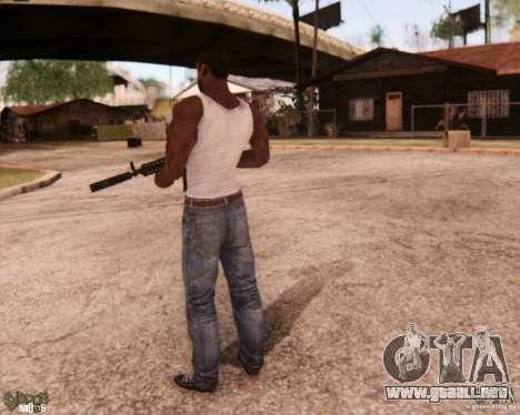 New CJ para GTA San Andreas sucesivamente de pantalla