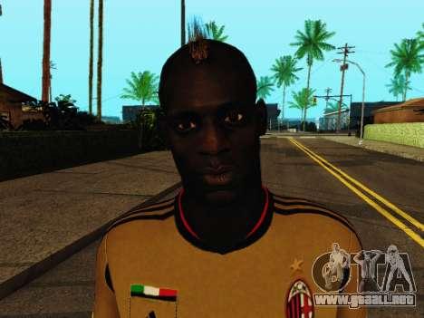 Mario Balotelli v3 para GTA San Andreas sexta pantalla