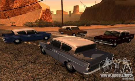 Ford Anglia 1959 para GTA San Andreas left