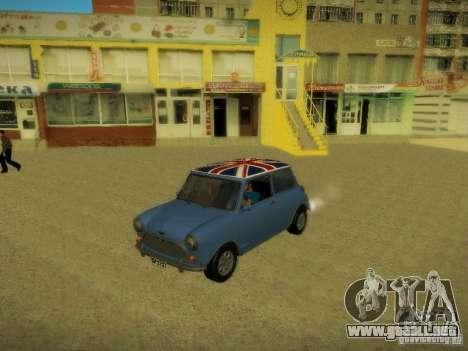 Mini Cooper 1965 para la vista superior GTA San Andreas