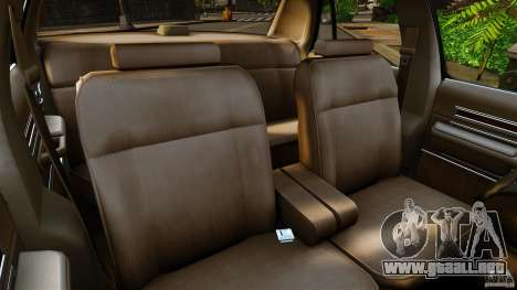 Ford LTD Crown Victoria 1987 para GTA 4 vista interior
