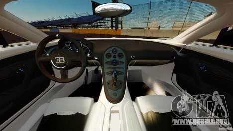 Bugatti Veyron 16.4 Super Sport 2011 [EPM] para GTA 4 vista hacia atrás