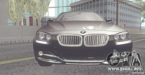 BMW 335i Coupe 2013 para GTA San Andreas left