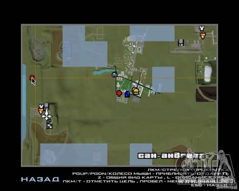 Gosport Road-Nižegorodsk para GTA San Andreas séptima pantalla