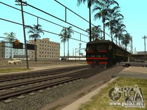 ÈR2R-7750 para GTA San Andreas vista hacia atrás