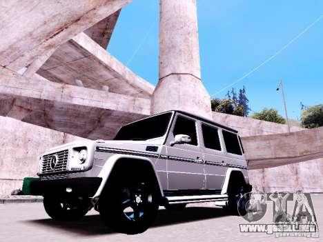 Mercedes-Benz G65 2012 para visión interna GTA San Andreas