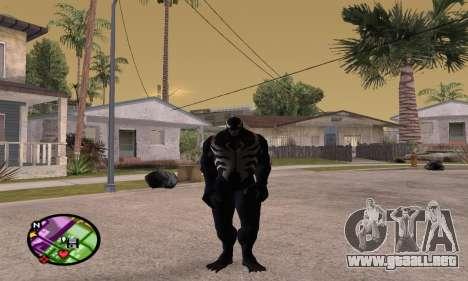 Spider Man and Venom para GTA San Andreas tercera pantalla