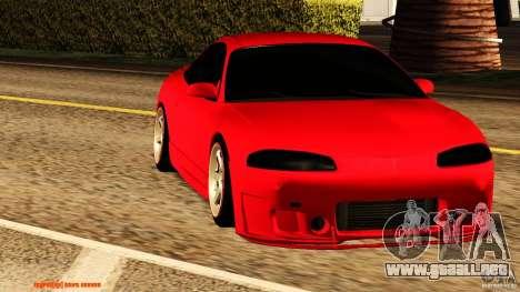 Mitsubishi Eclipse 1998 para GTA San Andreas left