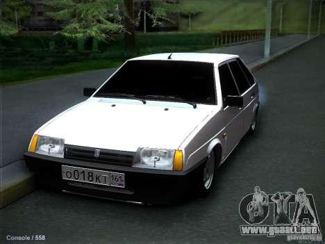 VAZ 2109 Rostov para GTA San Andreas