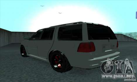 Lincoln Navigator para GTA San Andreas left