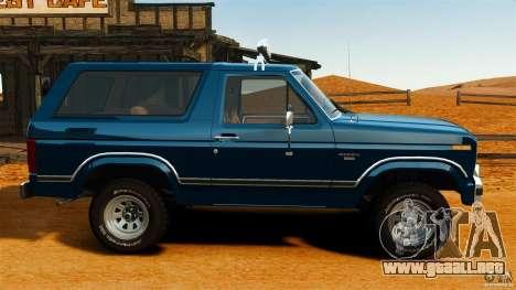 Ford Bronco 1980 para GTA 4 left