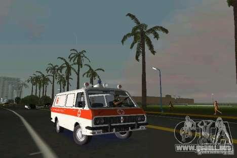 RAF-22031 ambulancia para GTA Vice City