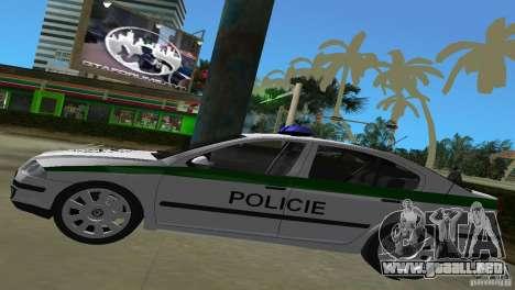 Skoda Octavia 2005 para GTA Vice City vista posterior