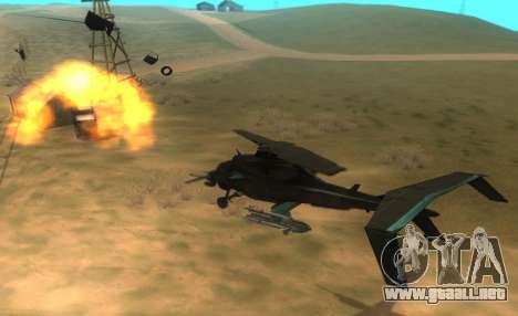 RQ-50 Hammerhead para visión interna GTA San Andreas