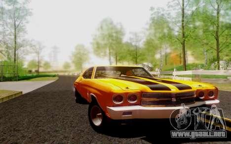 Chevrolet Chevelle SS 454 1970 para GTA San Andreas