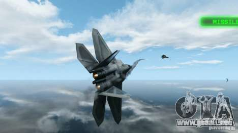 Air Combat IV para GTA 4 segundos de pantalla