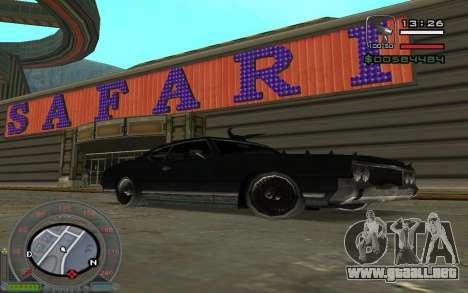New Sabre para la visión correcta GTA San Andreas