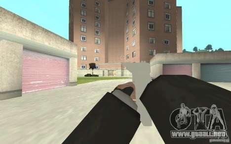Nueva animación de GTA IV para GTA San Andreas quinta pantalla