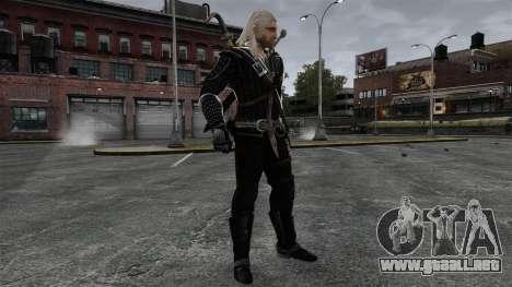 Geralt de Rivia v8 para GTA 4 quinta pantalla