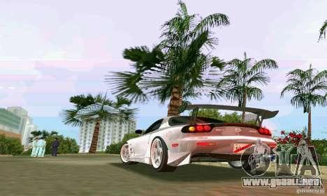 Mazda RX7 tuning para GTA Vice City visión correcta