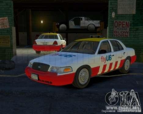 Ford Crown Victoria for FlyUS Car para GTA 4
