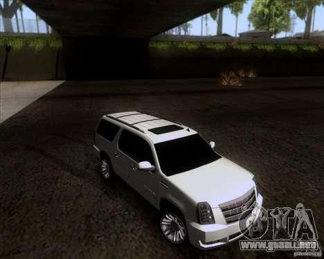 Cadillac Escalade ESV Platinum 2013 para GTA San Andreas