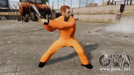 Sam Fisher v5 para GTA 4 adelante de pantalla
