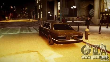 Mercedes-Benz 560 SEL Black Edition para GTA 4 left